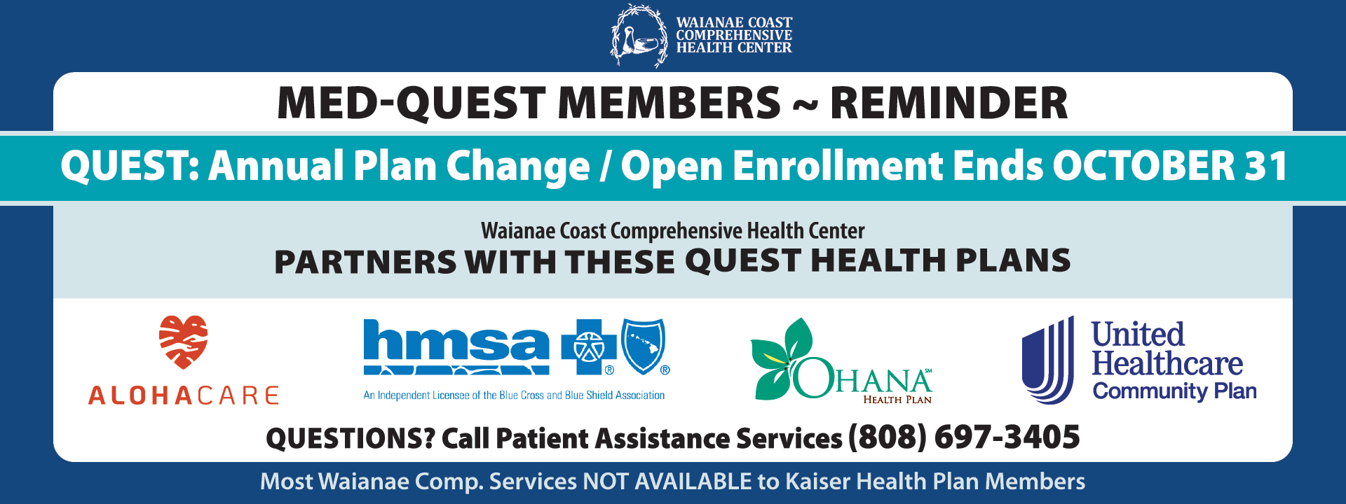 2020 Med-Quest Open Enrollment