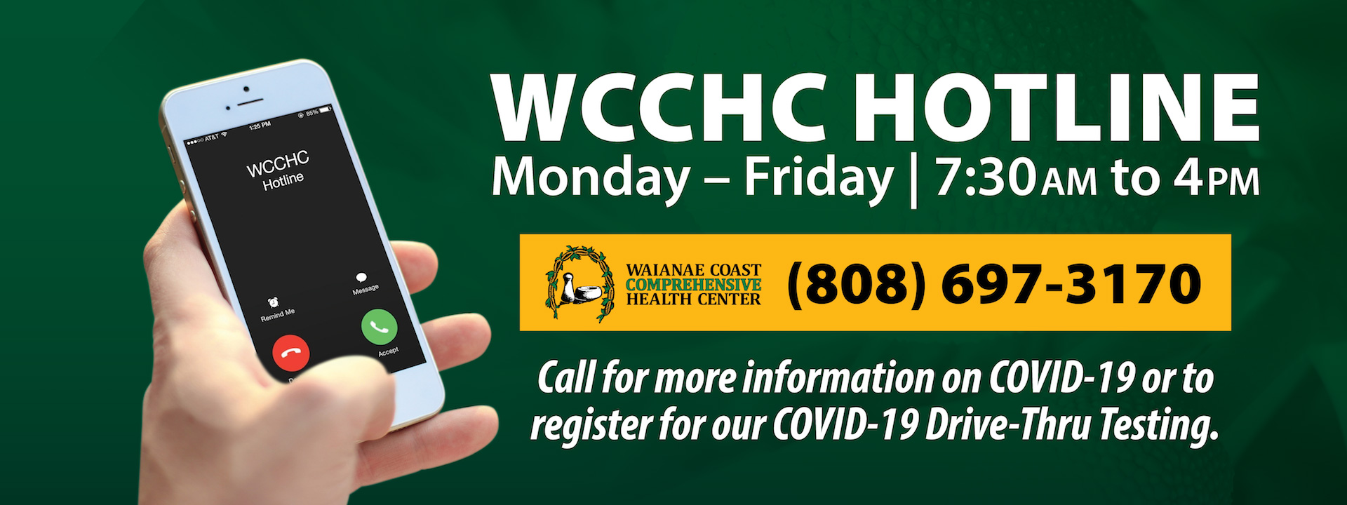 WCCHC Hotline